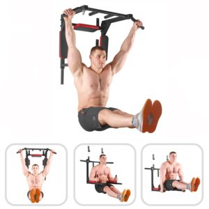 barra de dominadas pared para musculación